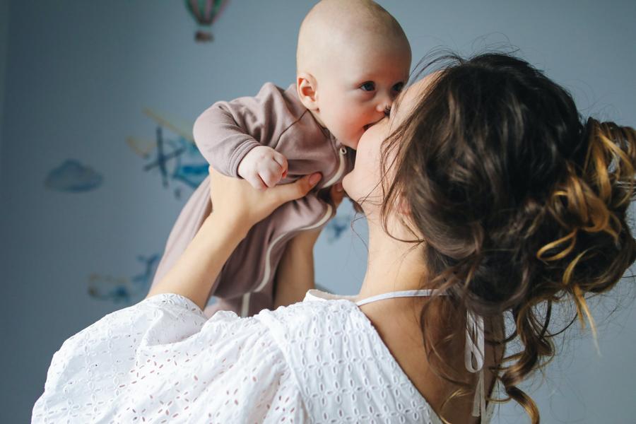 ベビーとママ